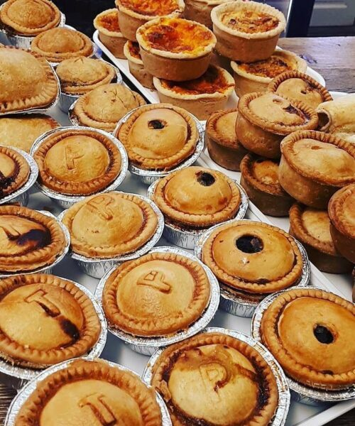 Thornton's Bakehouse and Butchers in Husthwaite Flavoured Pies