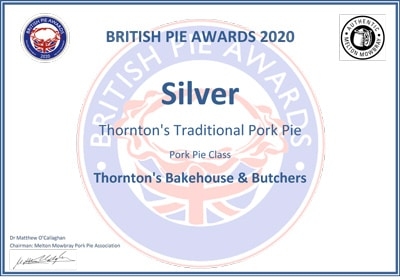 British Pie Awards - Silver Award