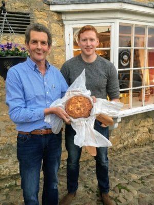 Thornton's Bakehouse and Butchers bespoke Birthday pork pie
