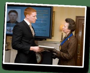 John Thornton meets Princess Anne